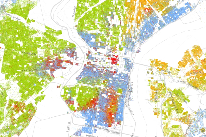 segregation in philly